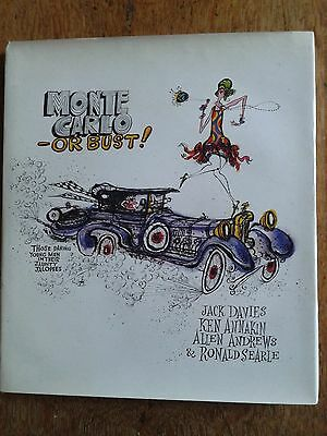 'Monte Carlo - or Bust!' Allen Andrews (author) Ronald Searle (illustrator) 1969