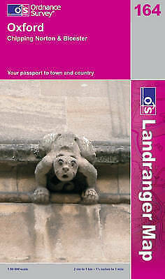 Oxford, Chipping Norton and Bicester by Ordnance Survey (Sheet map, folded, 200…