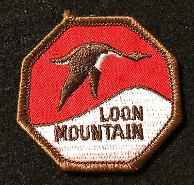 LOON MOUNTAIN Skiing Ski Patch New Hampshire NH Resort Travel Lapel Ecusson