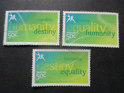No-07-  --2006 COMMONWEALTH  GAMES  -USED  50c  VALUES  ---A1  ORDER