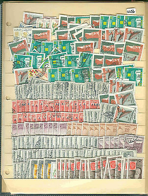 s2256 Stamp Accumulation Colombia Stock Page