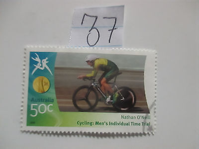 N o -37--2006 COMMONWEALTH  GAMES  -USED  50c  VALUES  ---A1  ORDER