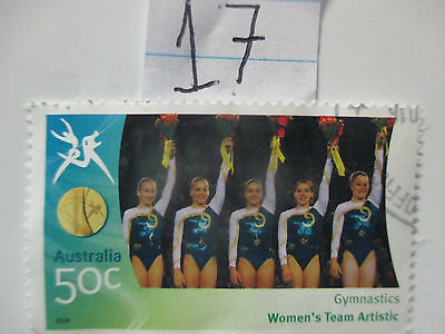 N o -17--2006 COMMONWEALTH  GAMES  -USED  50c  VALUES  ---A1  ORDER