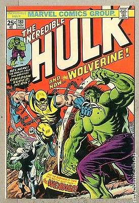 Incredible Hulk (1962-1999 1st Series) #181 FN- 5.5