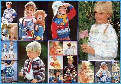 EASY KNITS for Boys & Girls FABULOUS Knitting Patterns in various plys