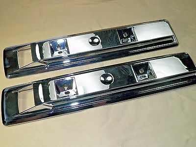 66-70 Charger Front Arm Rest Bases 66-67 Satellite Coronet New Chrome PR #1404