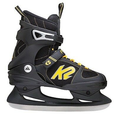 K2 Breakaway Ice Men's Ice Skates Multi-Coloured black / yellow 11 UK 46 EU
