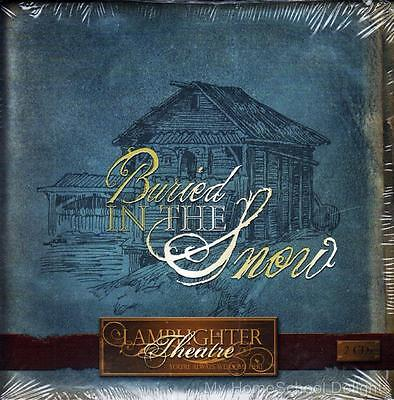 New Sealed BURIED IN THE SNOW Lamplighter Theater Audio CD Set Christian
