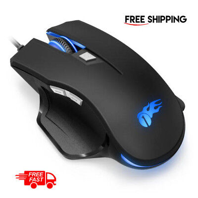 Adjustable Ergonomic USB Wired Gaming Mouse 16 Programmable Button for Pro Gamer
