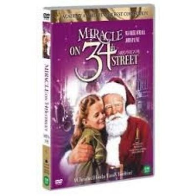 Miracle on 34th Street (1947) (DVD,All,Sealed,New) Edmund Gwenn, Maureen O'Hara