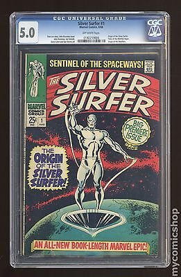 Silver Surfer (1968 1st Series) #1 CGC 5.0 (0182259006)