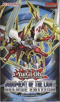 Konami YGO Deluxe Judgment of the Light (Deluxe Edition) (Case - 8) CCG MINT