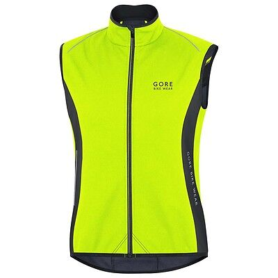 Gore Bike Wear Power Thermo Windstopper Soft Shell Vest Chalecos