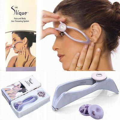 Slique design Epilator Systerm Removal Hair Threading Threader HOT Body Face #