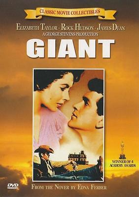 GIANT (1956) (DVD,All,Sealed,New) James Dean, Elizabeth Taylor