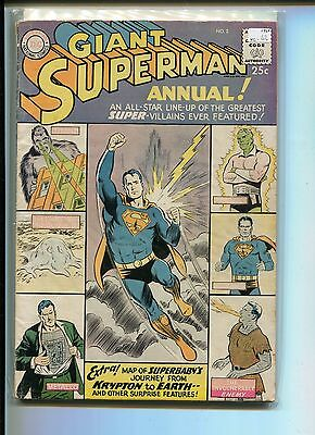 Superman Annual 2 Vg-  80-Page Giant 1960