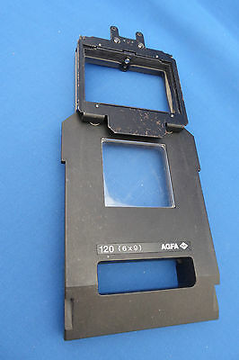 Agfa D-Lab 2/3 120 Negative Carrier for 6 x 9 Format (M)