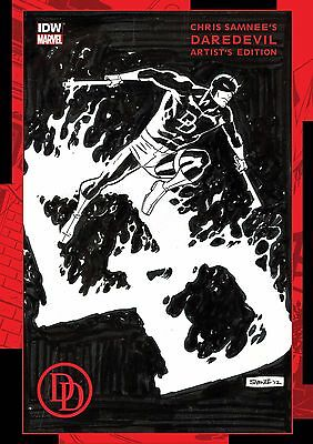 Chris Samnee Daredevil Extra Large Artist Edition Two Books In Slipcase
