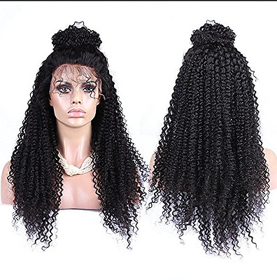 Lace Front Wigs Curly Wavy Full Head Wig Synthetic Hair Black Wigs for Women Wig
