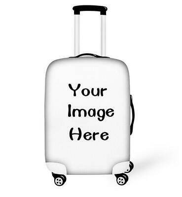"18""-28"" Customized Suitcase Decor Cover Bag Photo Text Print Whatever You Want"
