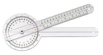 "Goniometer 12"" 360 Degree ISOM, Tape Measure, US Seller Select Option"