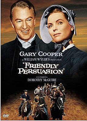 Friendly Persuasion (1956) (DVD,All,Sealed,New) Gary Cooper, Dorothy McGuire