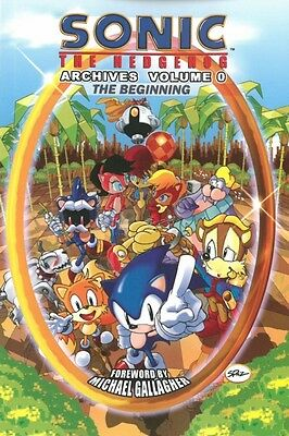 Sonic The Hedgehog Archives Volume 0: The Beginning (Paperback), Archie Comics,.
