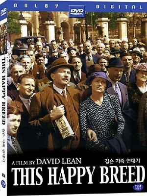 This Happy Breed (1944) (DVD,All,Sealed,New) Robert Newton, Celia Johnson