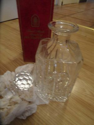 lead crystal decanter 24% hand cut  by  cathedral