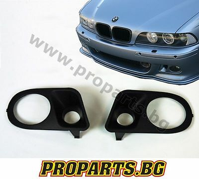 BMW 5 series E39 M sport M-Tech M5 Bumper Fog Lights Cover Surround Hamann Look