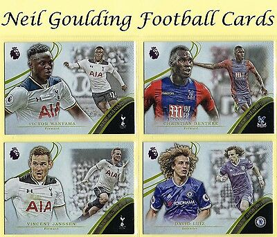 Topps PREMIER GOLD 2016 'New Signings' Football Insert Cards #NS1 to #NS15