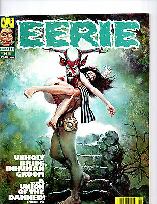 Eerie Anthology Magazine Of Contemporary Fantasy & Horror Comic Strips Issue 94