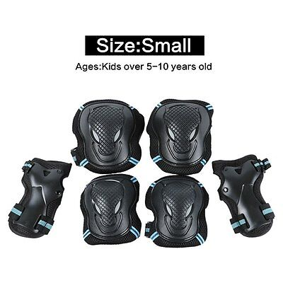TOPFIRE kid/Adult Knee Pads Elbow Pads Wrist Guards 3 In 1 Protective Gear Set 6