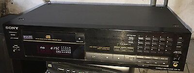 sony compact disc player cdp 791
