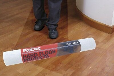 ProDec Self-Adhesive Film 25 Metre x 625mm Roll Hard Floor Protection (PRHSP25)