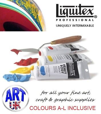 Liquitex professional artists HEAVY BODY acrylic colour paint 59ml tubes
