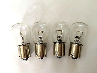 Vespa Indicator Bulbs clear PX or Disc also LML Parallel Pins