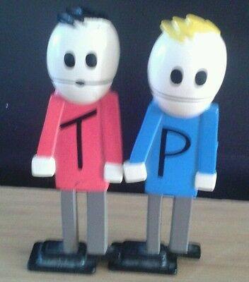 South park 2 rare figures Terence & Philip cake toppers free post