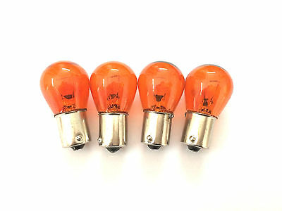 Vespa Indicator Bulbs Orange PX or Disc also LML Parallel Pins