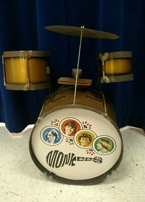 Rare 1960's Vintage Monkees Drum Set by Chein