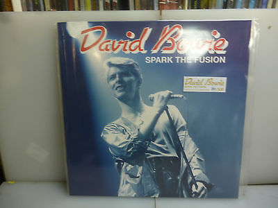 David Bowie-Spark The Fusion. Adelaide,australia 1978-Golden Vinyl Lp-New.sealed