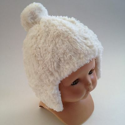 Baby Doll Or Infant HAT Faux-Fur White Brand Name OLD NAVY