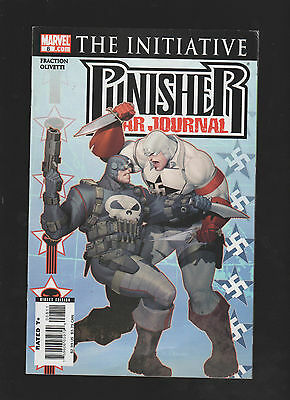 The Punisher War Journal#8 (The Initiative) Marvel Comics