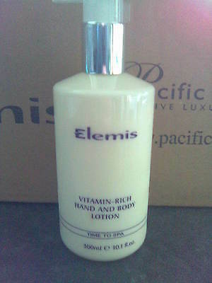 1 x new elemis vitamin-rich, hand and body lotion 300 ml