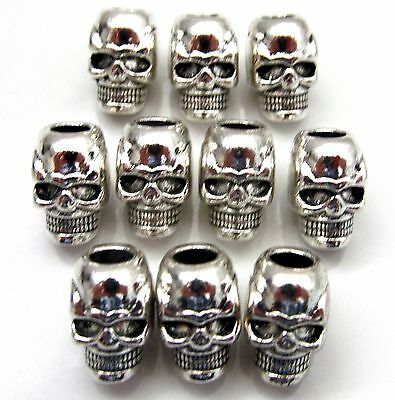 Bracelet Necklace Skull Beads- Lanyard Charm Crafts Pacecounter Shoe lace