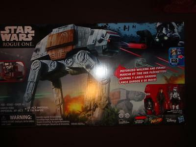 NEW Star Wars Hasbro Rogue One Rapid Fire Imperial AT-ACT Walker Electronic