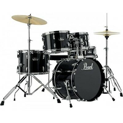 Batterie Pearl Roadshow Junior 18'' 5 fûts - Jet Black