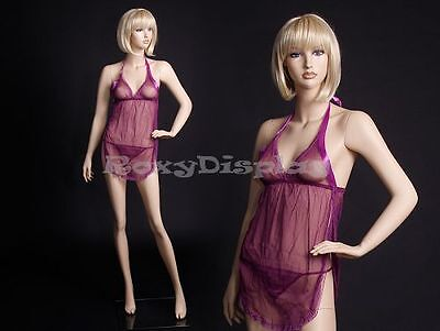 Fiberglass Female Display Mannequin Manikin Manequin Dummy Dress Form #MZ-KELLY