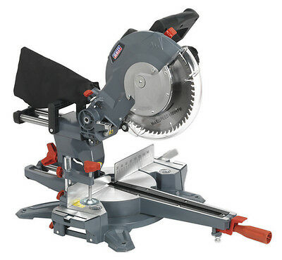 Sealey Tools Sms255 Double Sliding Compound Mitre Saw 250Mm