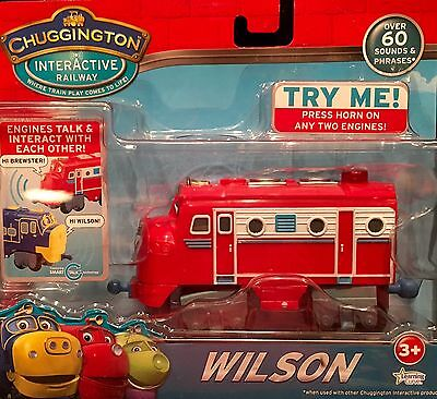 Chuggington Interactive Railway WILSON 60 Sounds & Phrases Smart Engines NEW